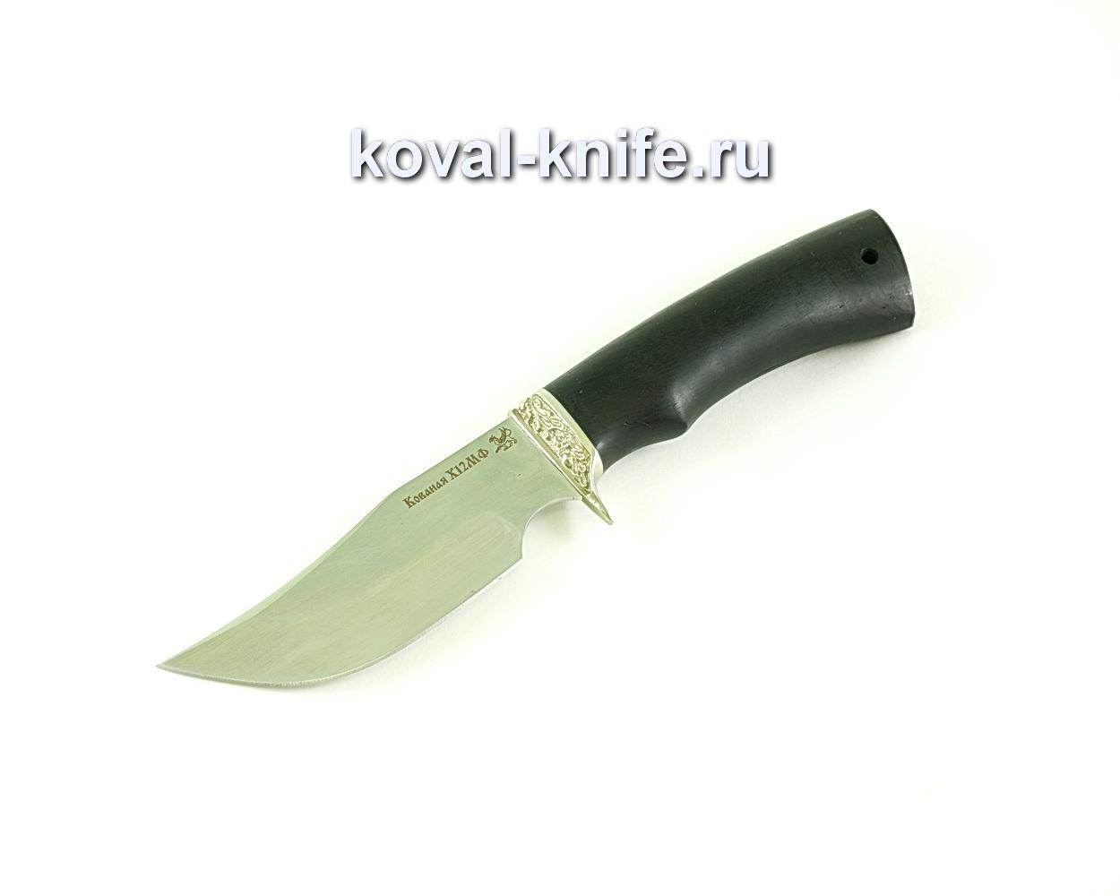 Нож Бекас (сталь х12мф), рукоять граб, литье A082