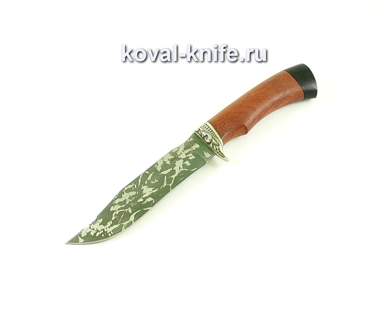 Нож Викинг (сталь 95х18), рукоять бубинга, граб A279