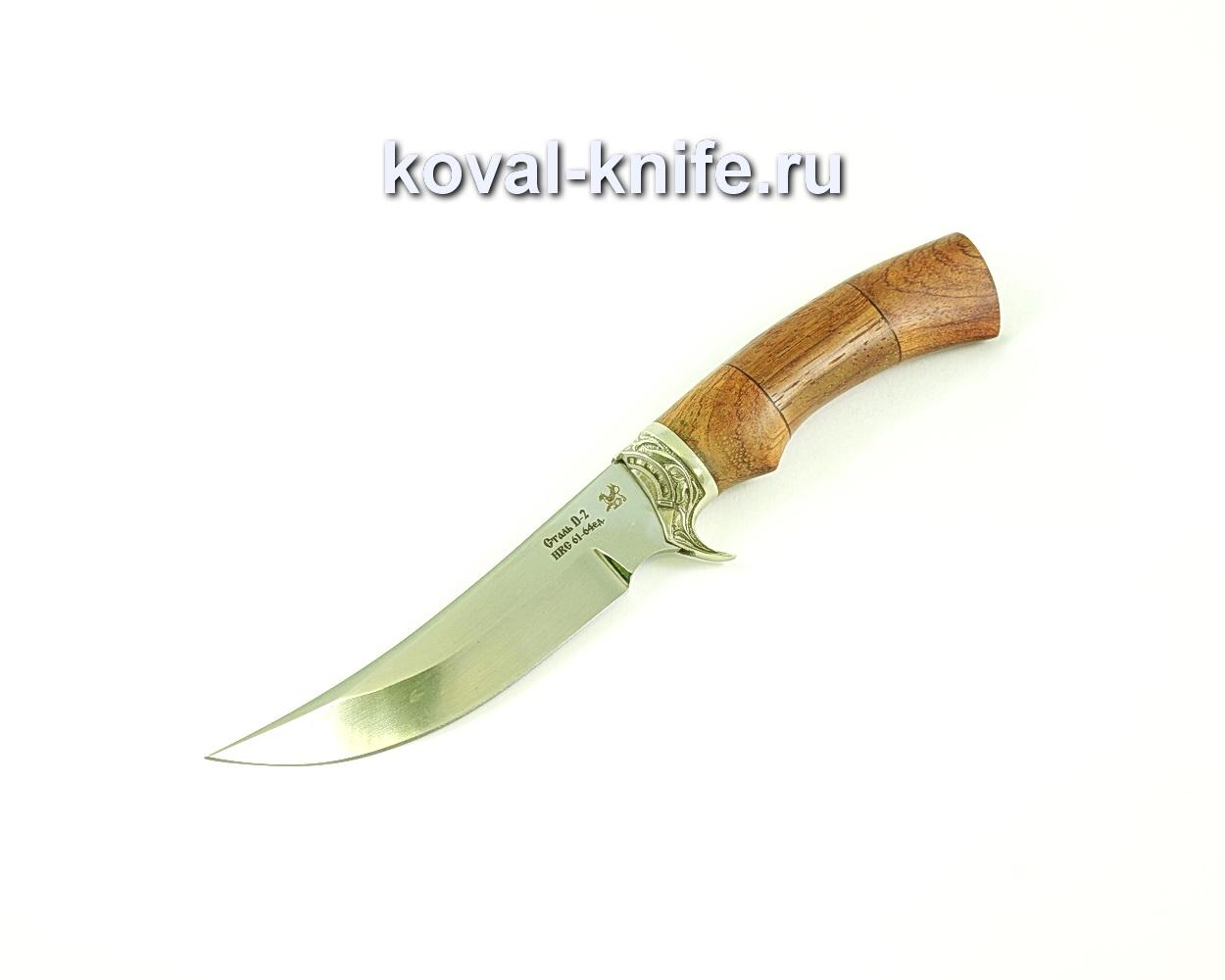 Нож Ворон (сталь D2), рукоять бубинга, литье A123
