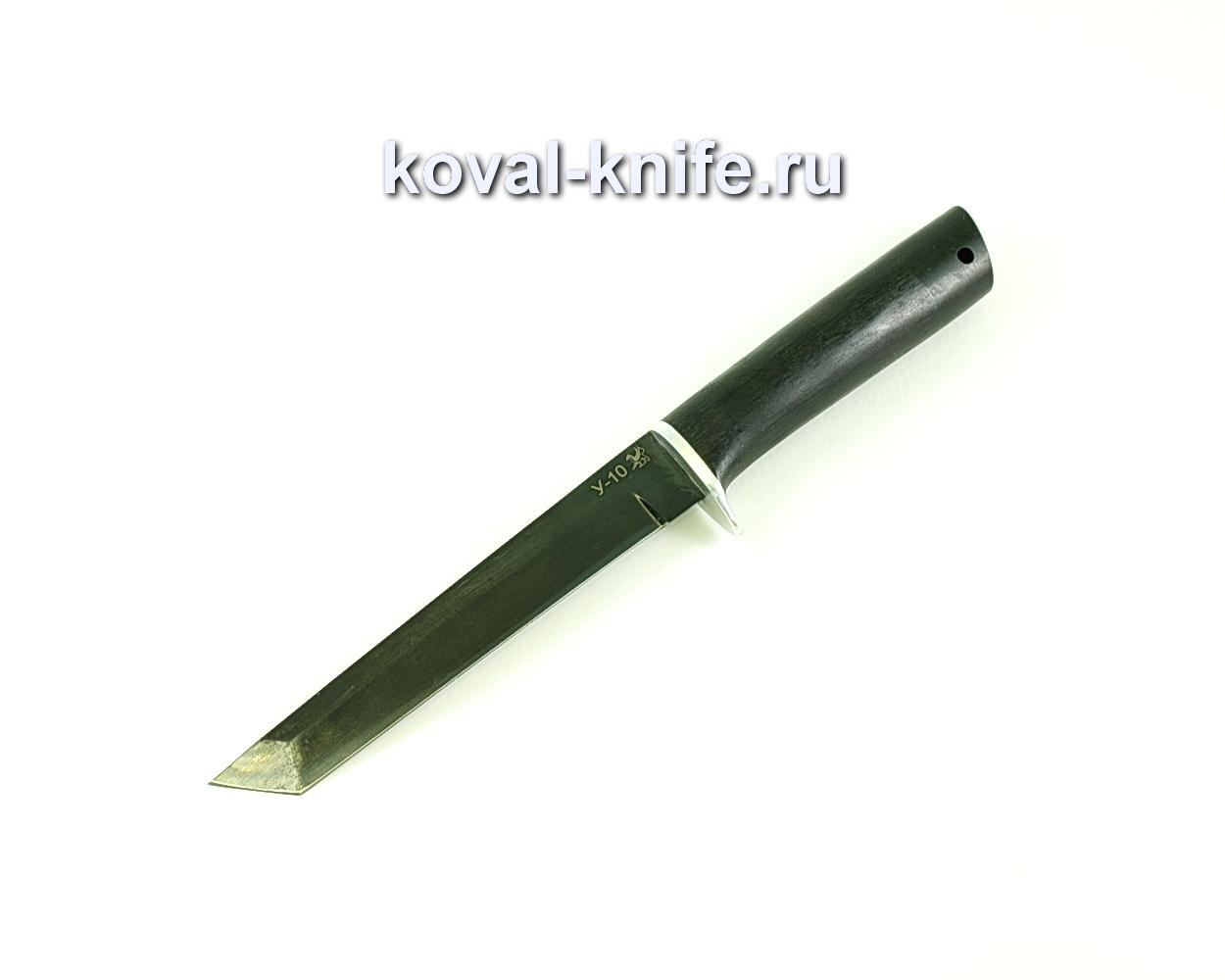 Нож Кобун (сталь У-10), рукоять граб A131