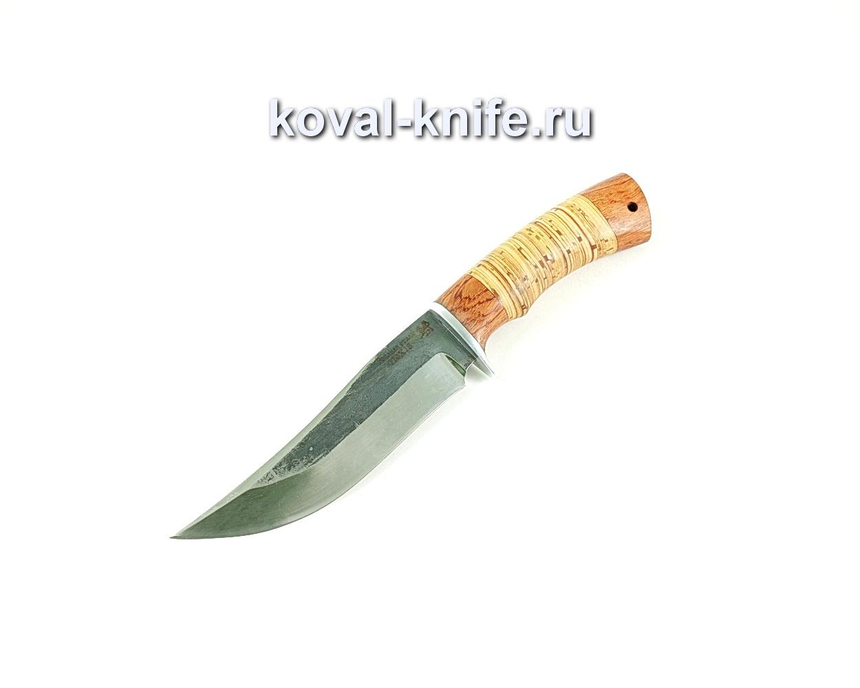 Нож Клыч (сталь 110х18), рукоять бубинга, береста A151