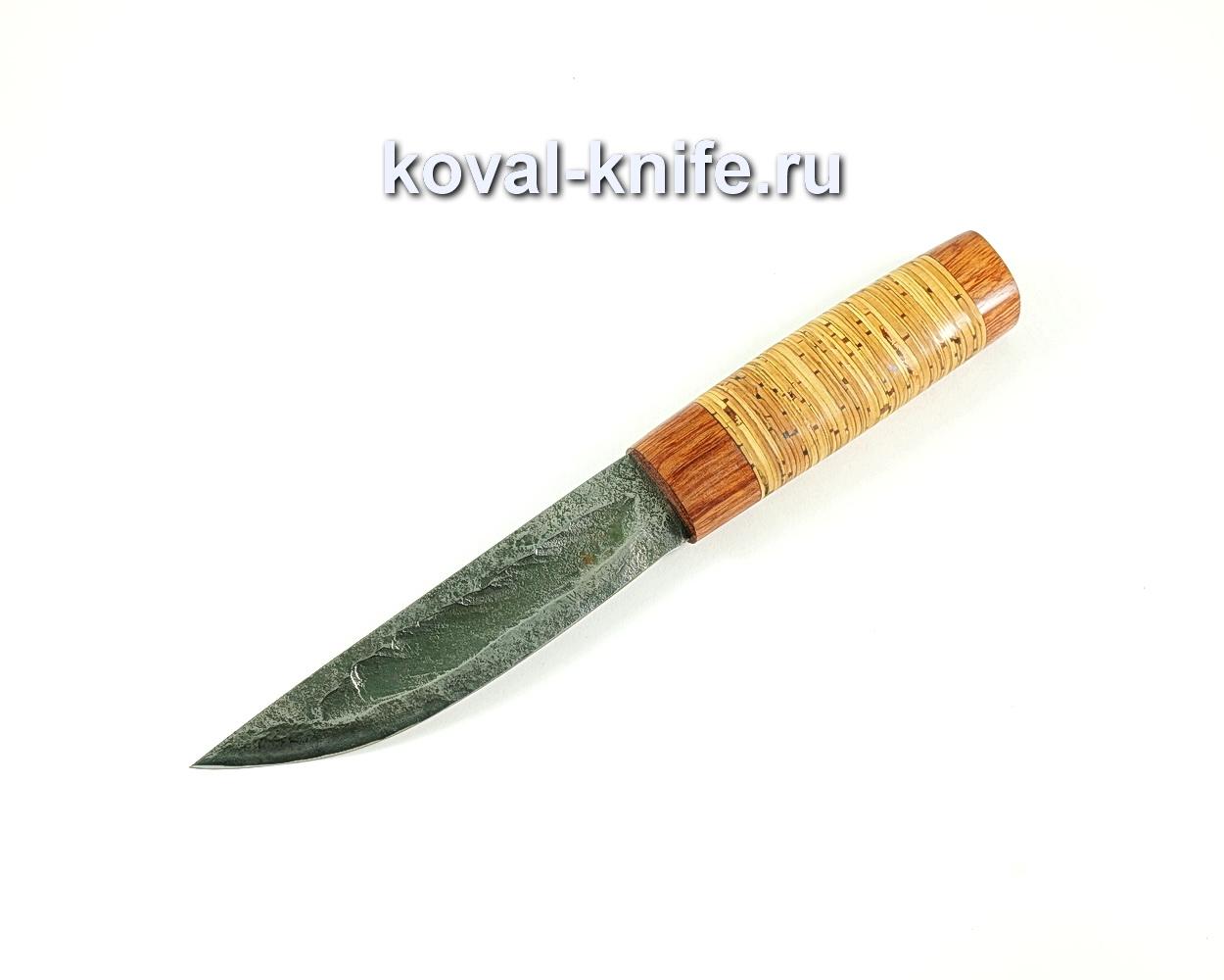 Нож Якут (сталь 9хс), рукоять бубинга, береста A133