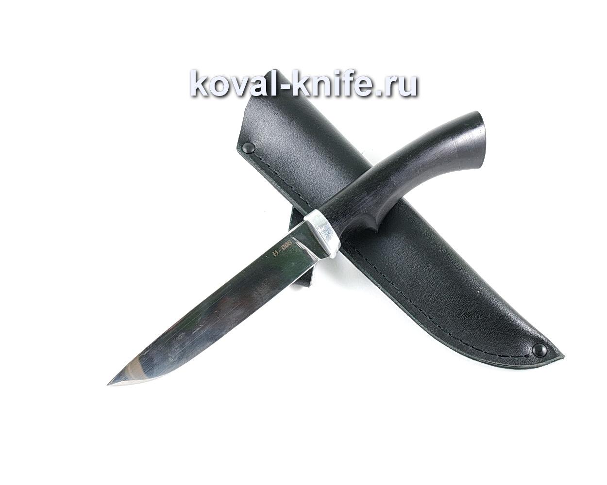 Нож Турист (сталь N-695), рукоять граб A126