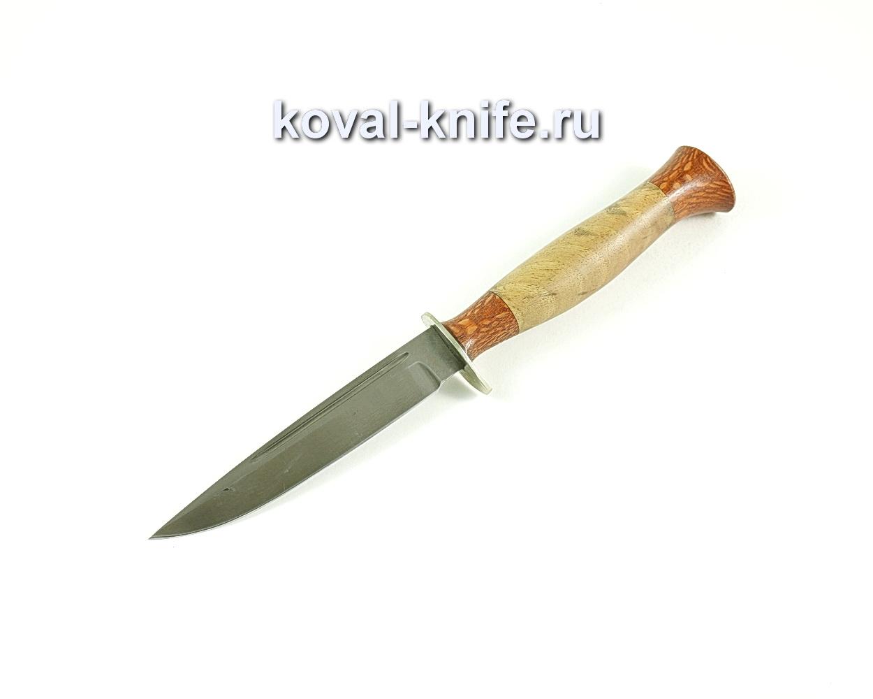 Нож Финка (сталь Булат), рукоять орех A149