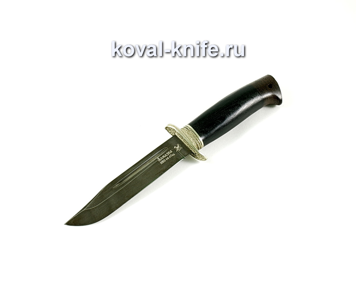 Нож Штрафбат (сталь ХВ5-Алмазка), рукоять граб, литье A289
