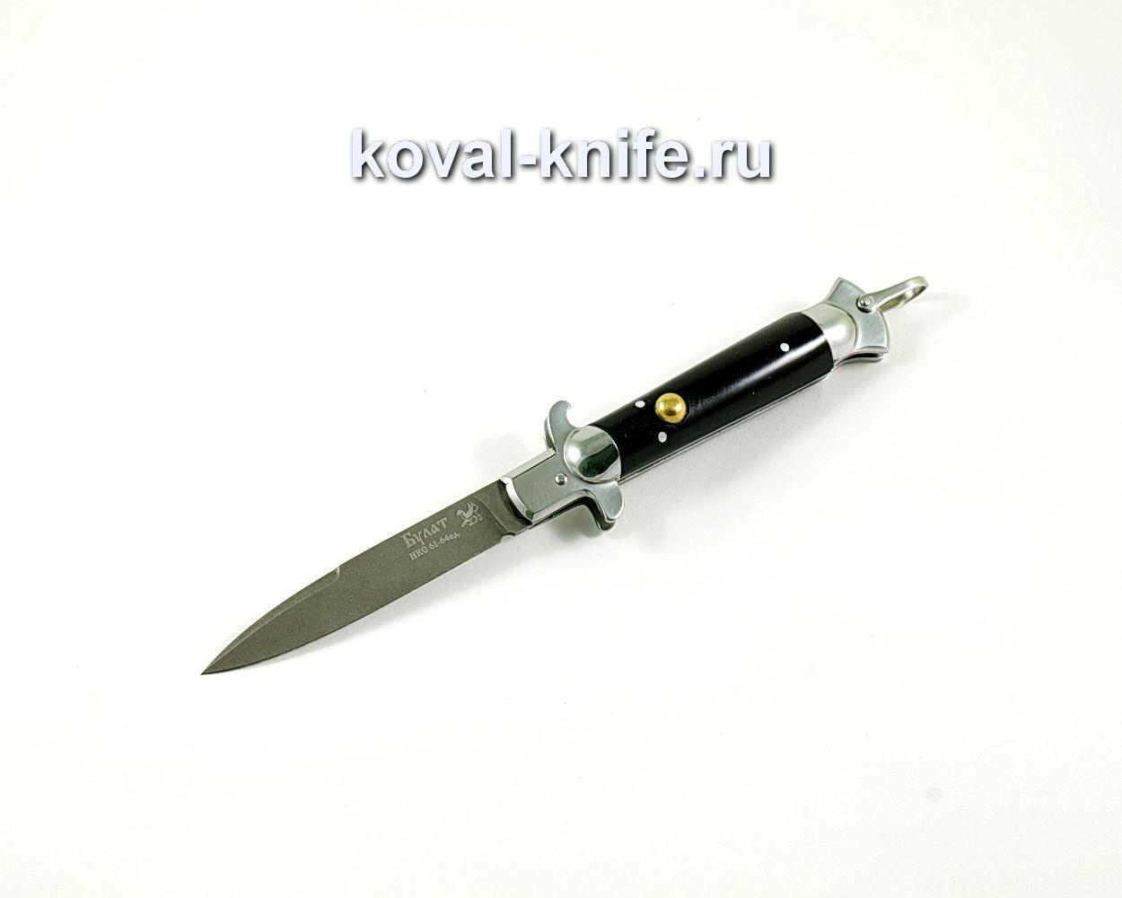 Нож Флинт (сталь Булат), рукоять эбонит A329