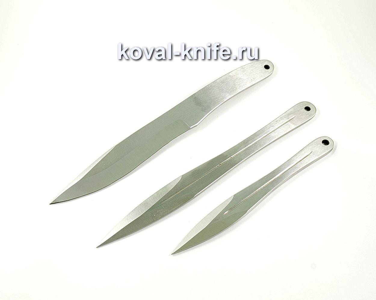 """Набор метательных ножей """"Вымпел, горец, мини горец"""" A193"""