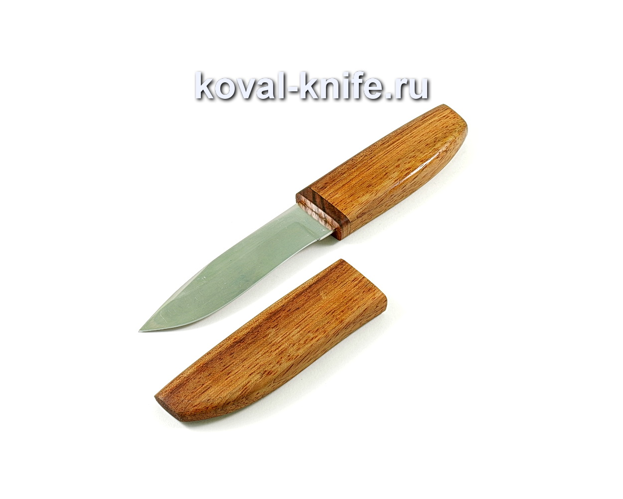 Нож Олимп (сталь 95х18) рукоять и ножны бубинга A238