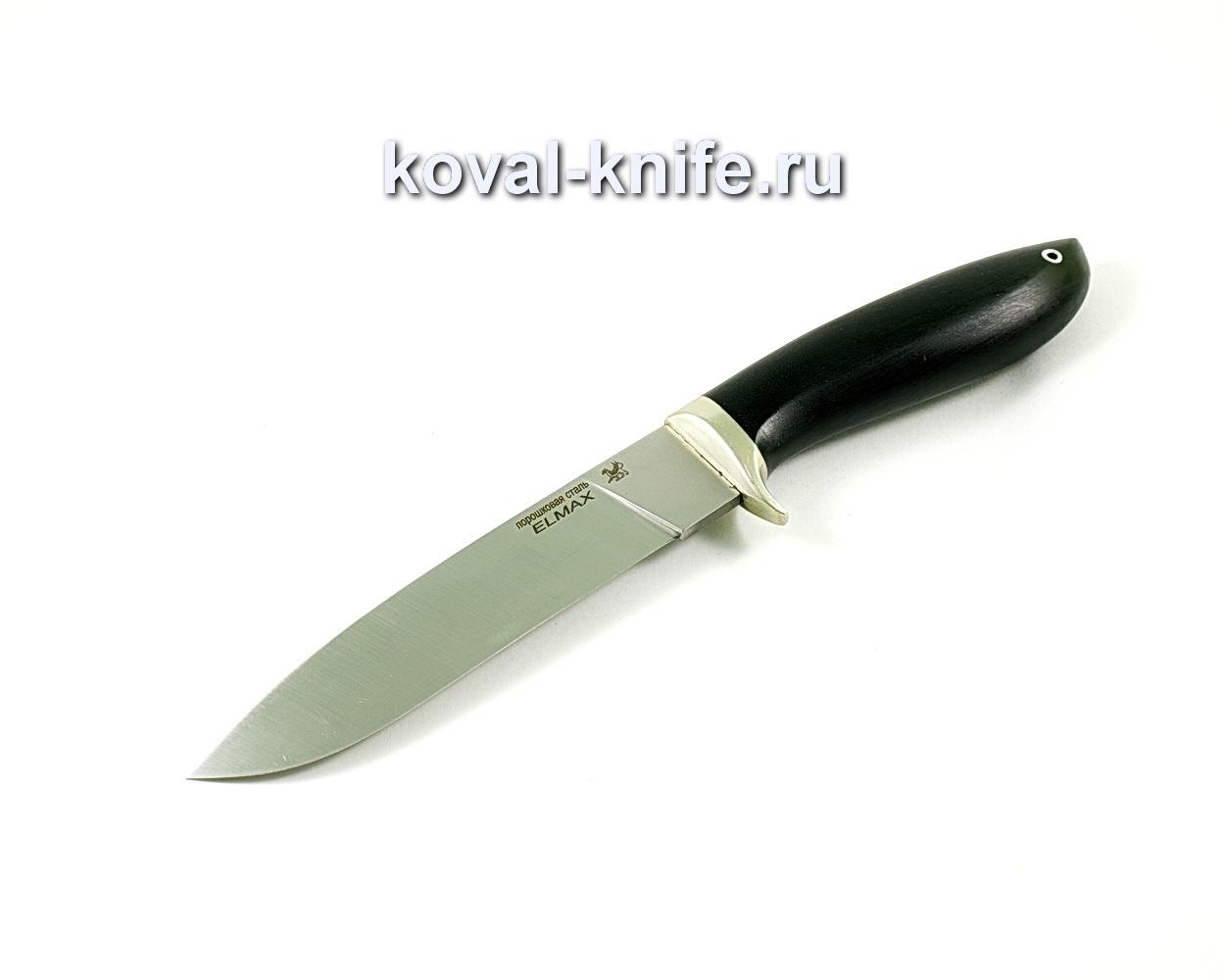 Нож Олимп (сталь Elmax), рукоять граб, литье A339
