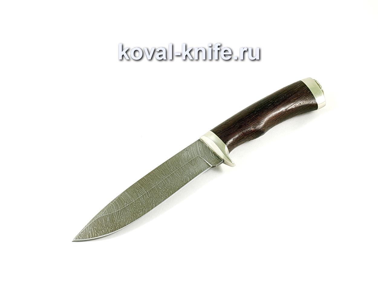 Нож Олимп (сталь Дамасская), рукоять венге, литье A232