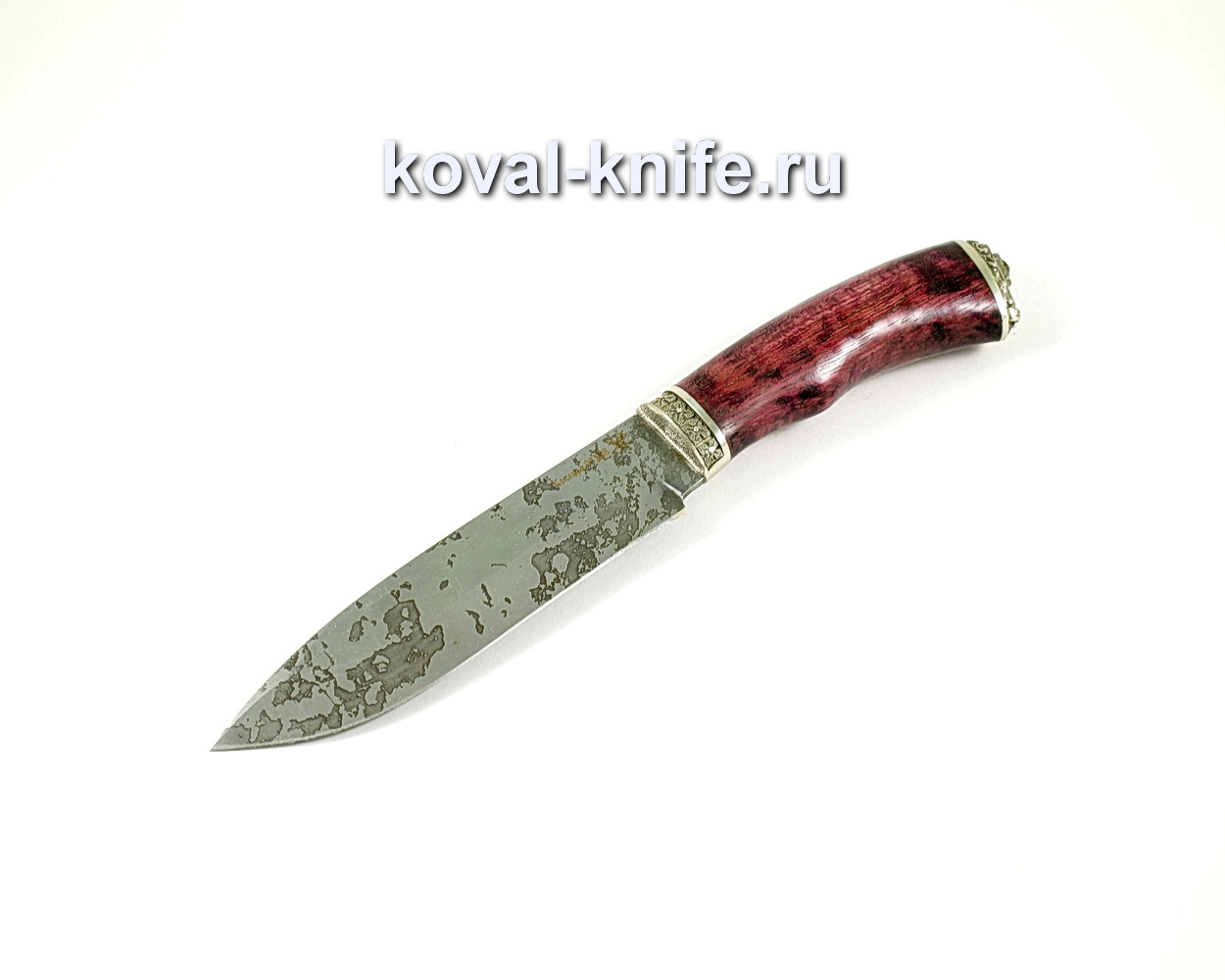 Нож Орлан (сталь 95х18), рукоять амарант, литье A241