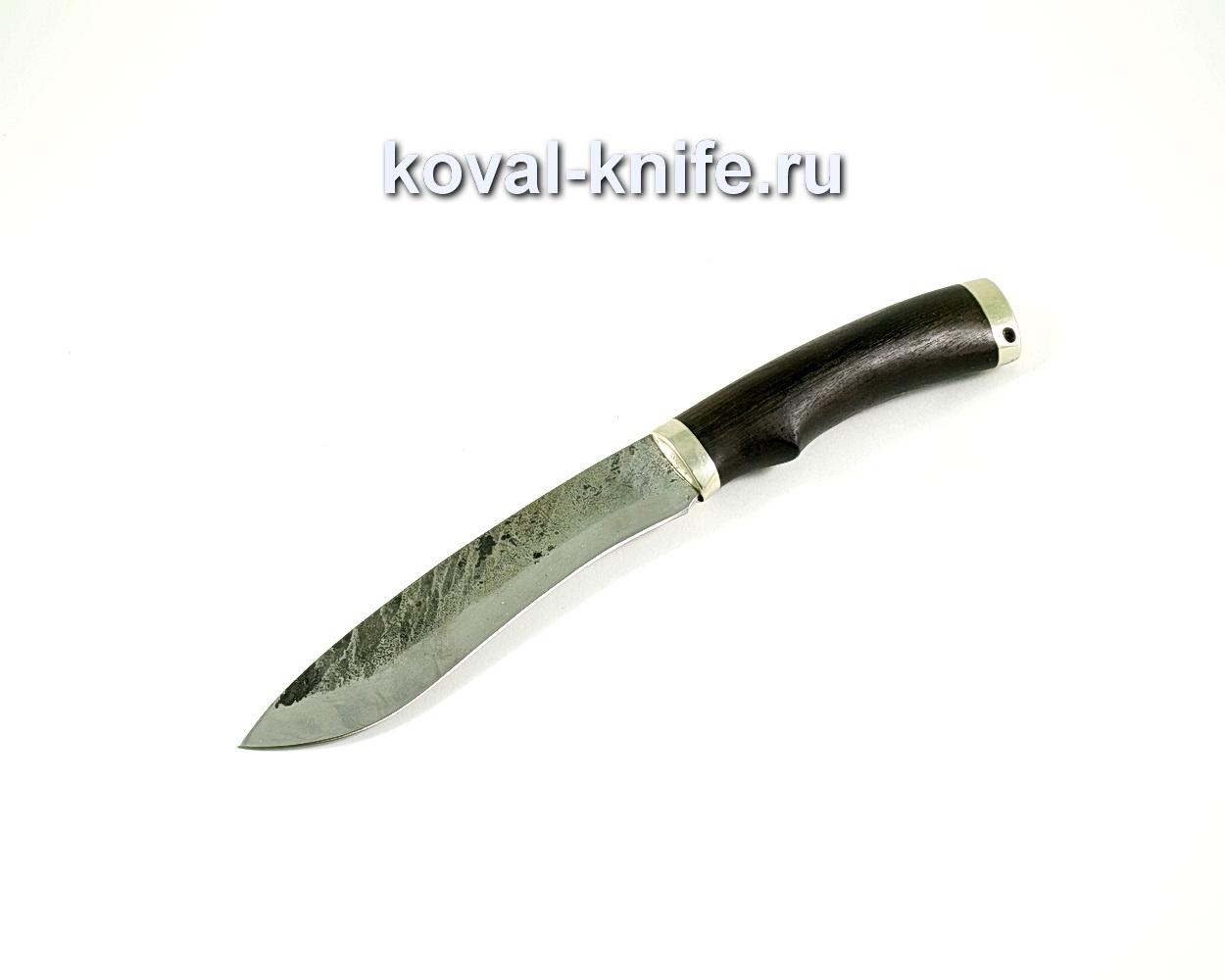 Нож Носорог (сталь 9хс), рукоять граб, литье A159
