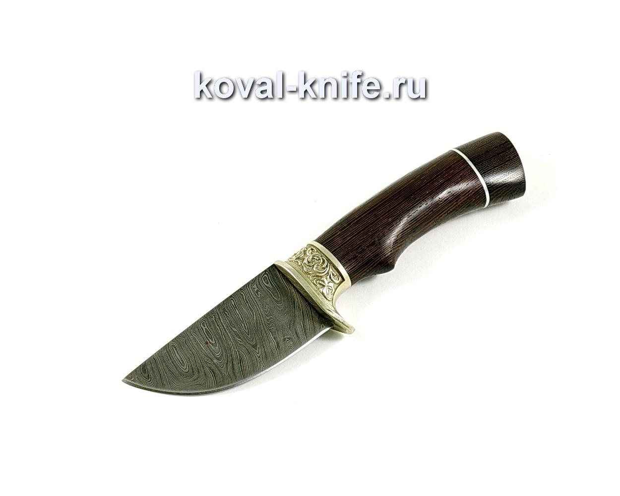 Нож Скин (сталь Дамасская), рукоять венге, литье A234