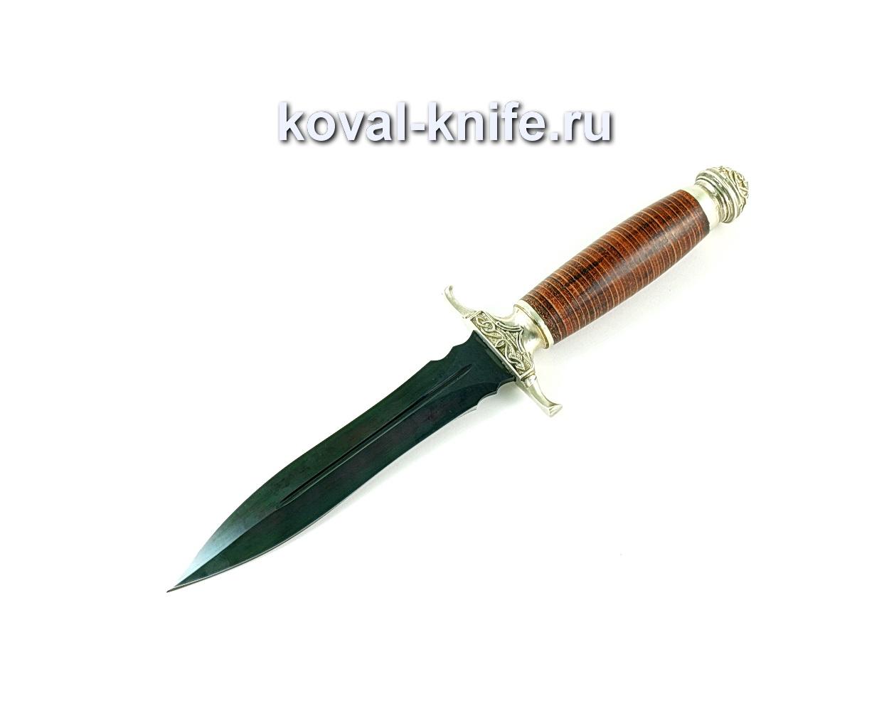 Нож Кардинал (сталь У10), рукоять кожа, литье A177