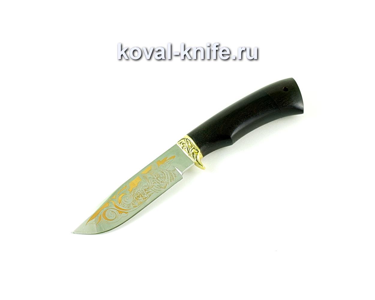 Нож Бигзод-мини (сталь 65х13), рукоять граб, литье A168