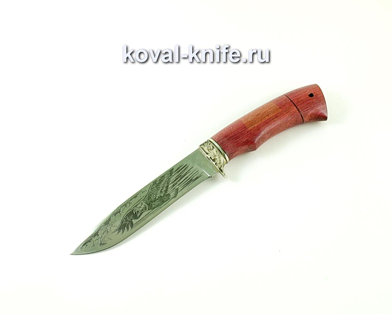 Нож Олимп (сталь 65х13), рукоять амарант, литье A172