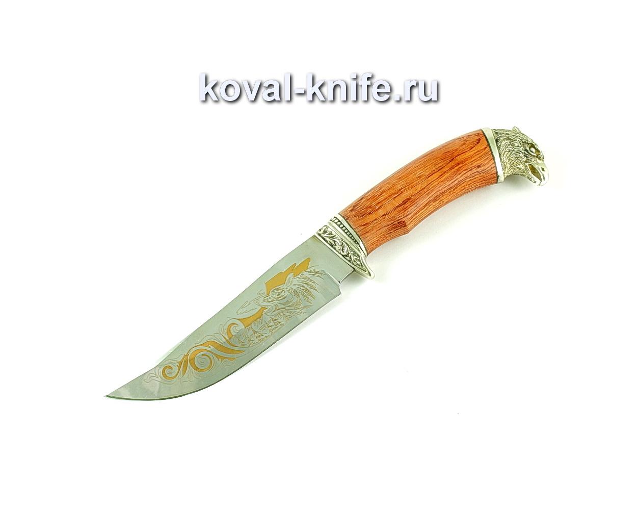 Нож Клыч (сталь 65х13), рукоять бубинга, литье A174