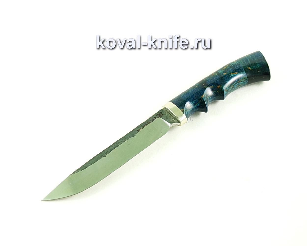 Нож Турист (сталь х12мф), рукоять карельская береза-стабилизированная A295