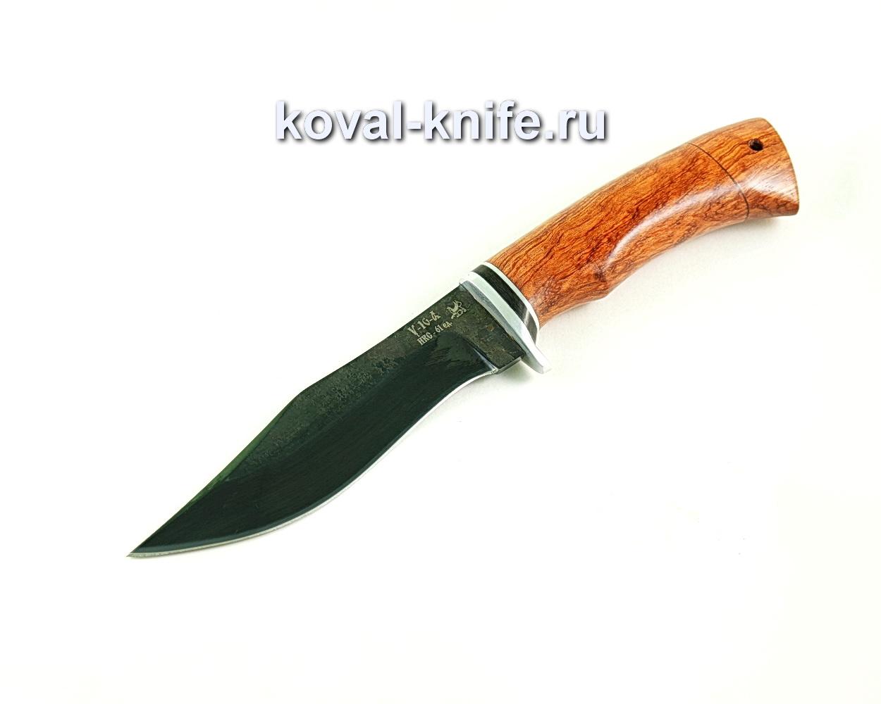 Нож Охотничий (сталь У10), рукоять падук A302