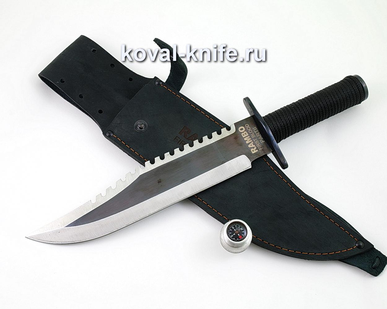 """Легендарный нож Рэмбо """"Первая Кровь"""" RAMBO First Blood 2 A486"""