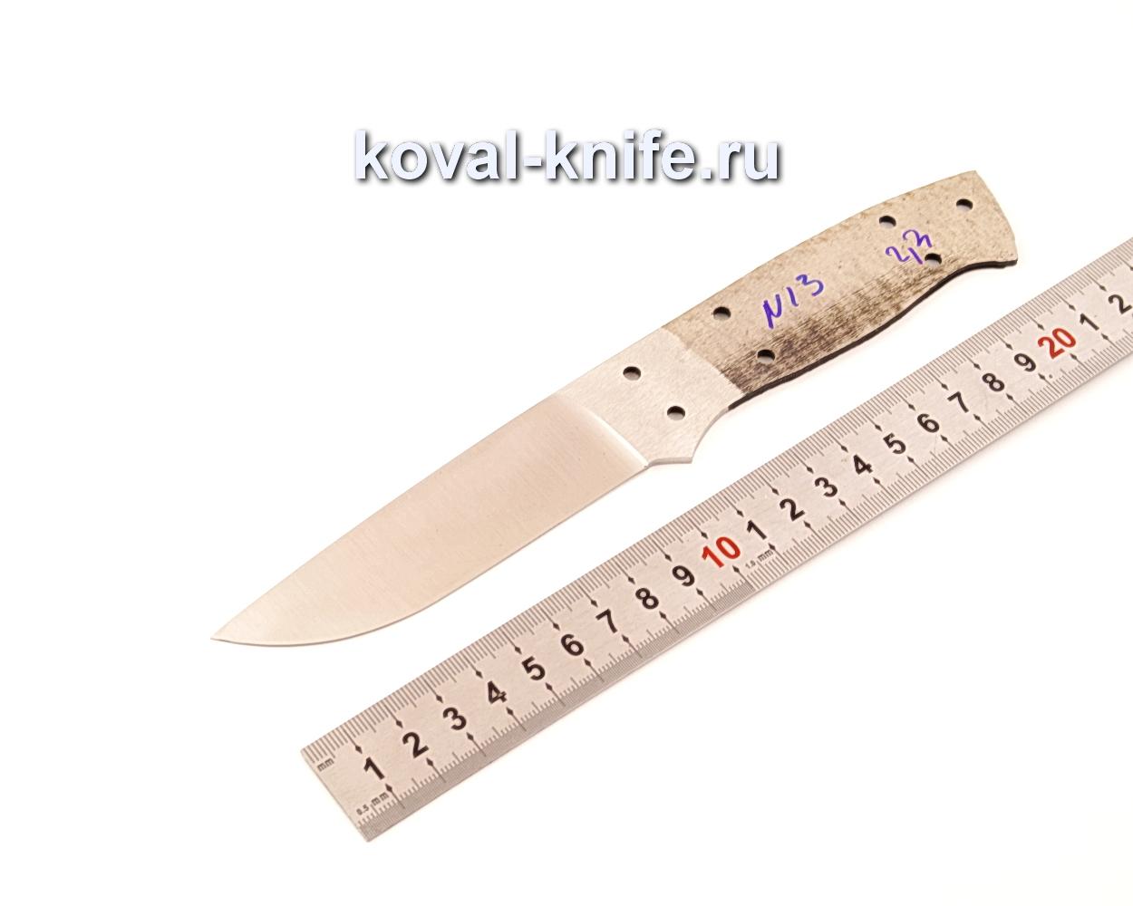 Клинок для ножа из порошковой стали Bohler M390 N13