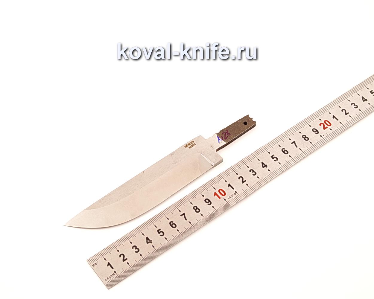 Клинок для ножа из порошковой стали Bohler M390 N28