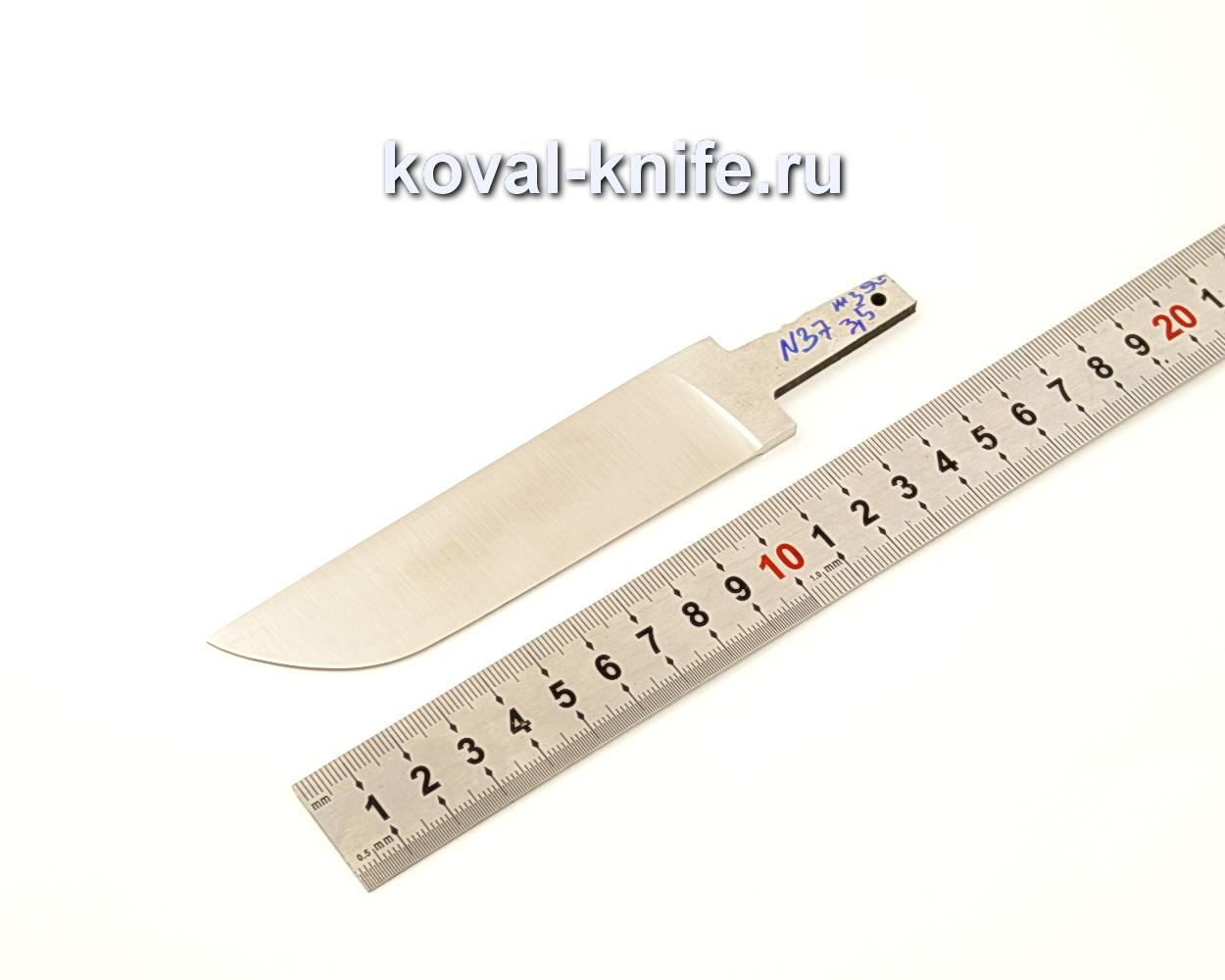 Клинок для ножа из порошковой стали Bohler M390 N37