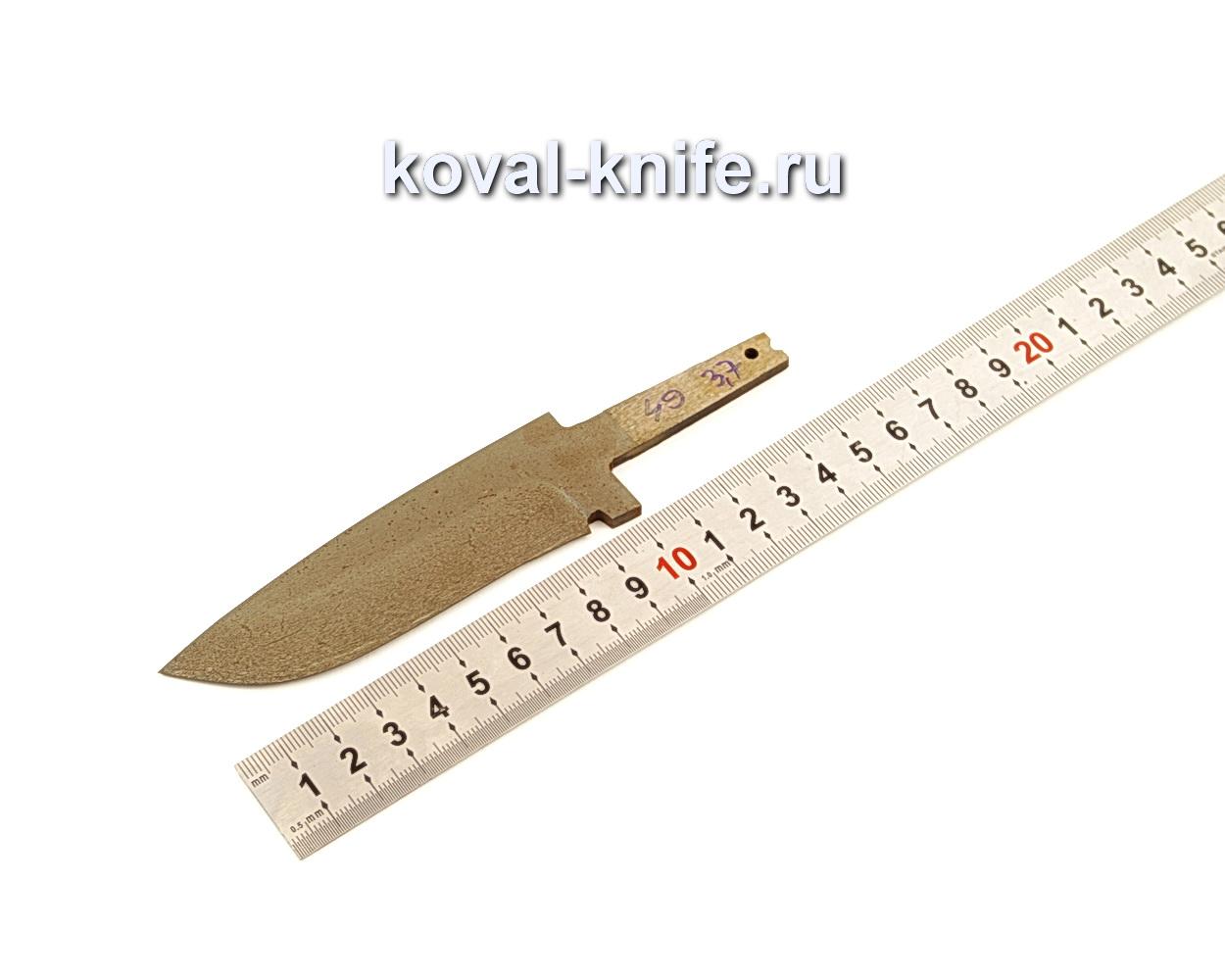 Клинок для ножа из из булатной стали N49
