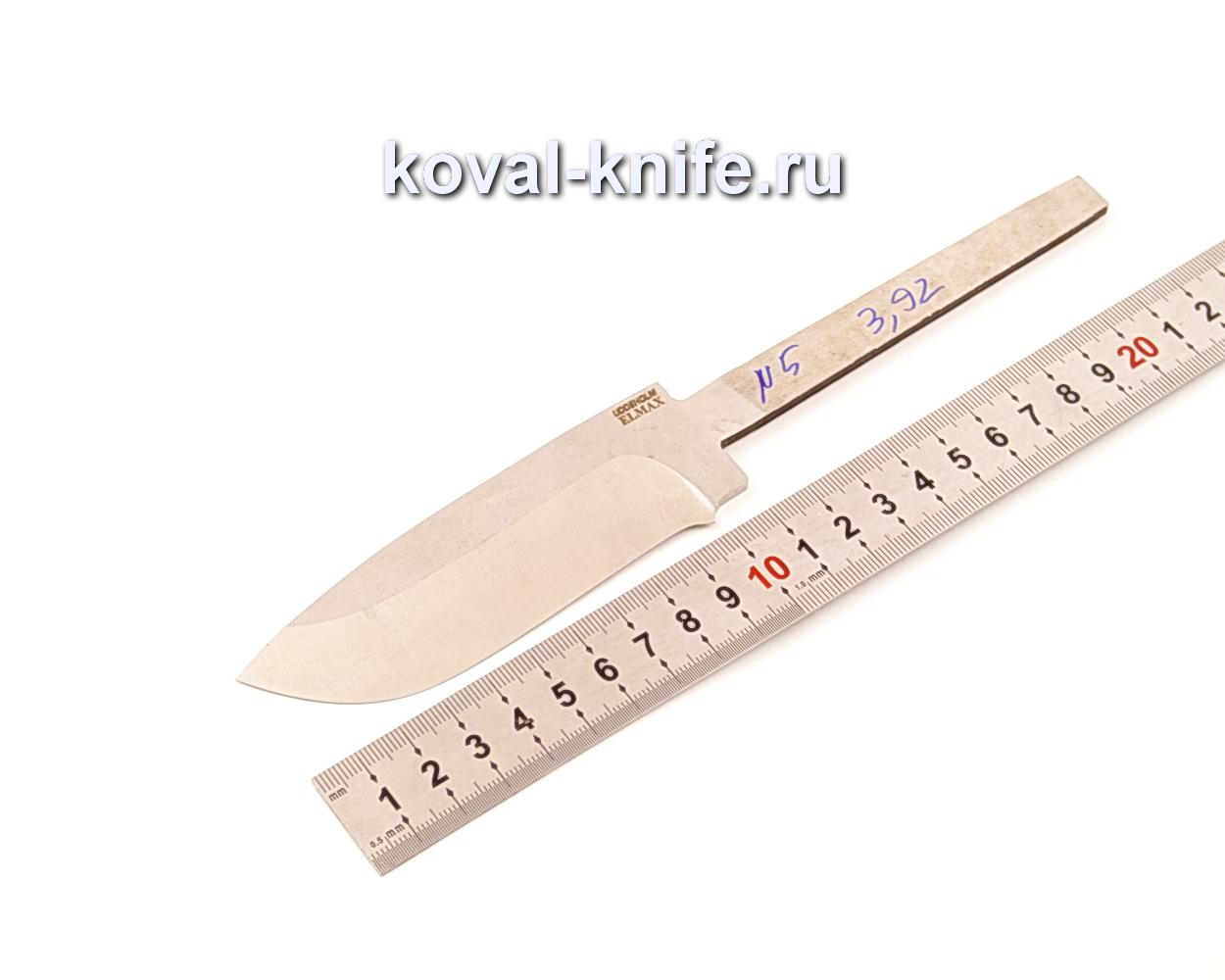Клинок для ножа из порошковой стали Elmax N5