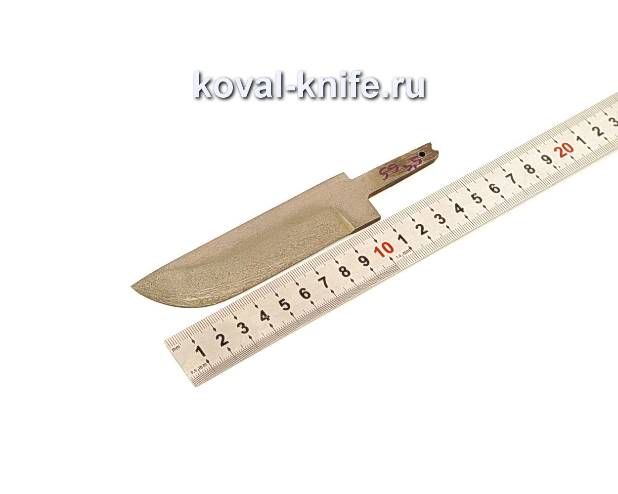 Клинок для ножа из булатной стали N59