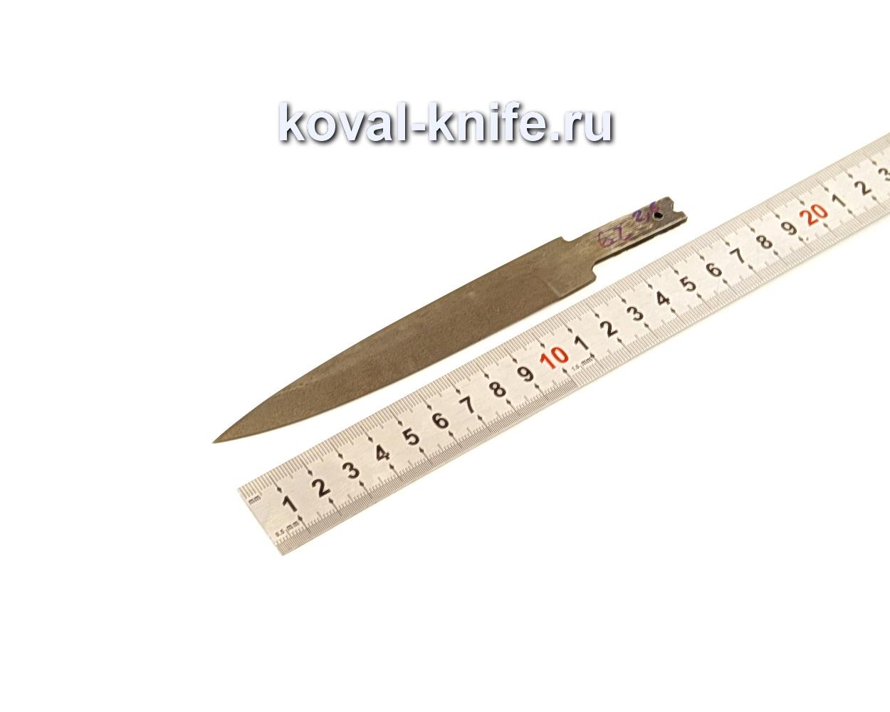 Клинок для ножа из кованой стали Х12МФ N62