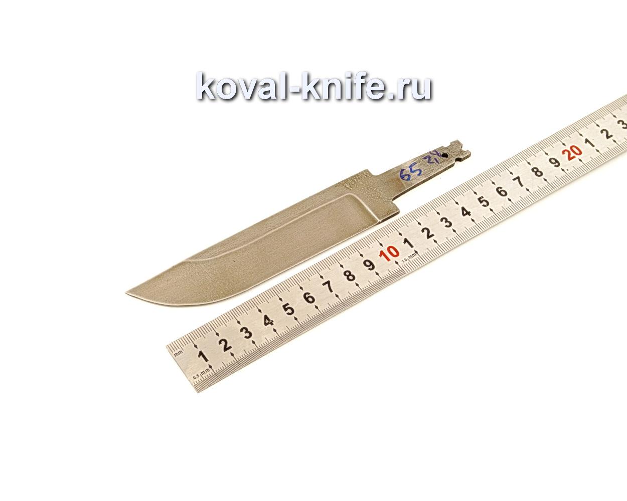 Клинок для ножа из кованой стали ХВГ N65