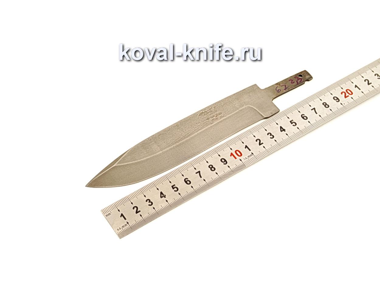 Клинок для ножа из кованой стали ХВГ N67