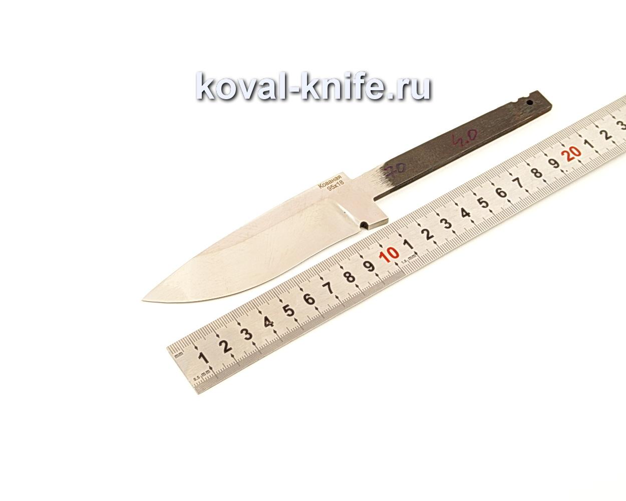 Клинок для ножа из кованой стали 95Х18 N70