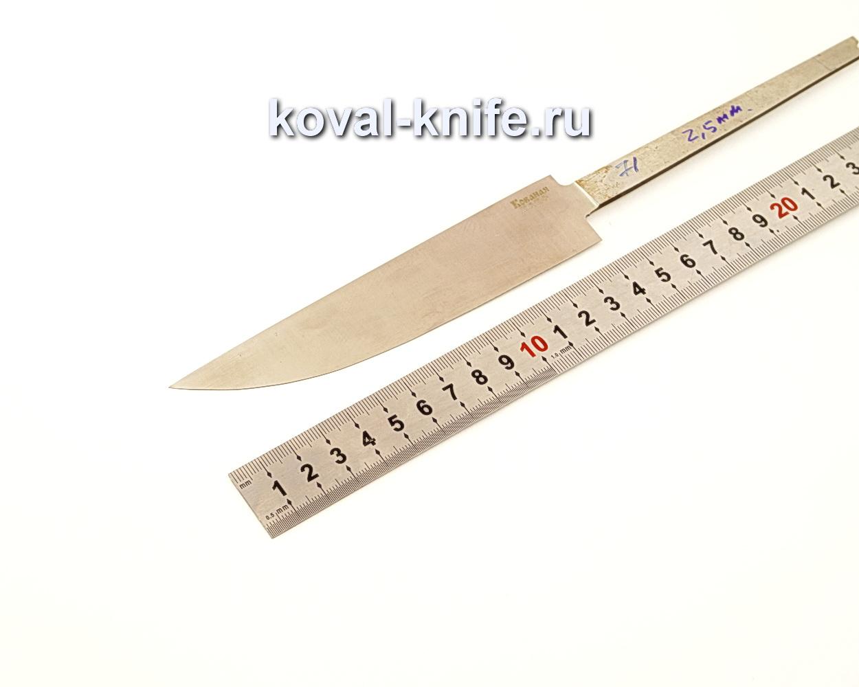 Клинок для ножа из кованой стали Х12МФ N71