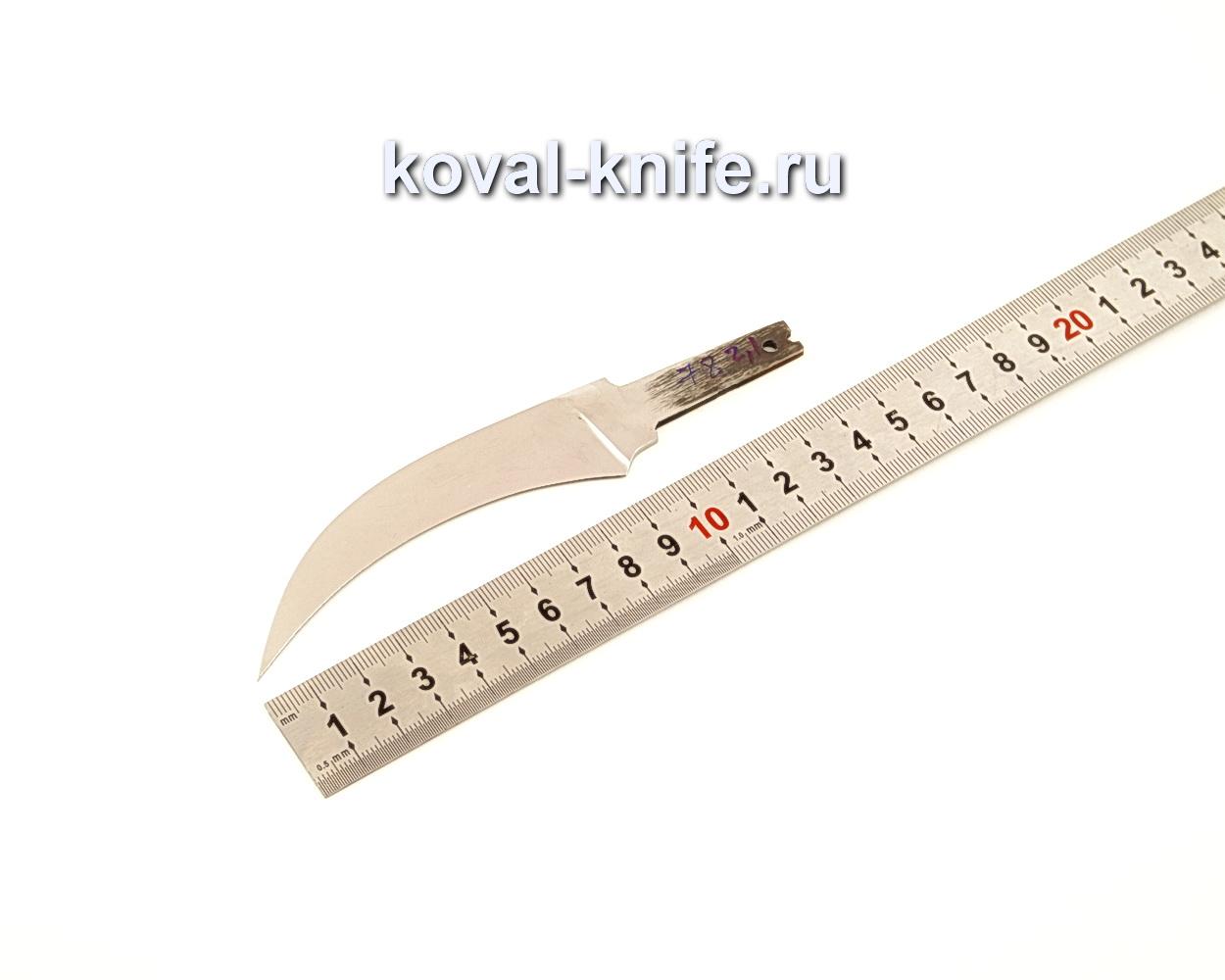 Клинок для ножа из кованой стали Х12МФ N78