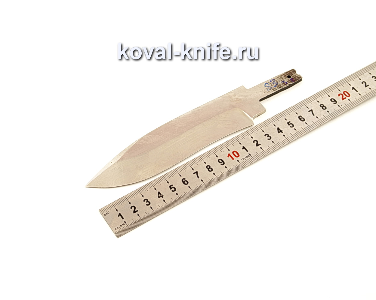 Клинок для ножа из кованой стали Х12МФ N83