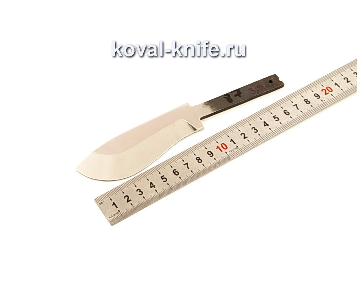 Клинок для ножа из кованой стали Х12МФ N87