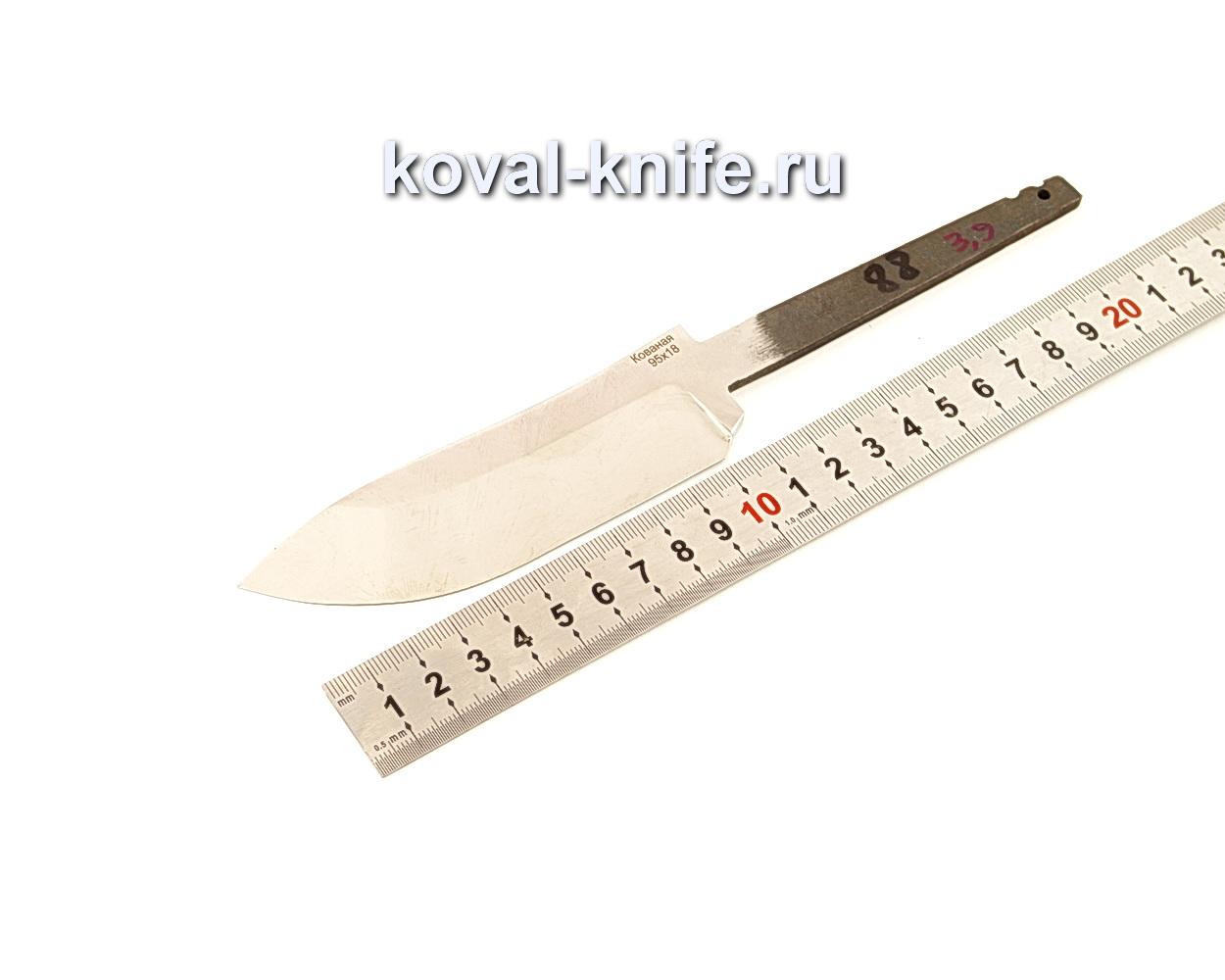Клинок для ножа из кованой 95Х18 N88