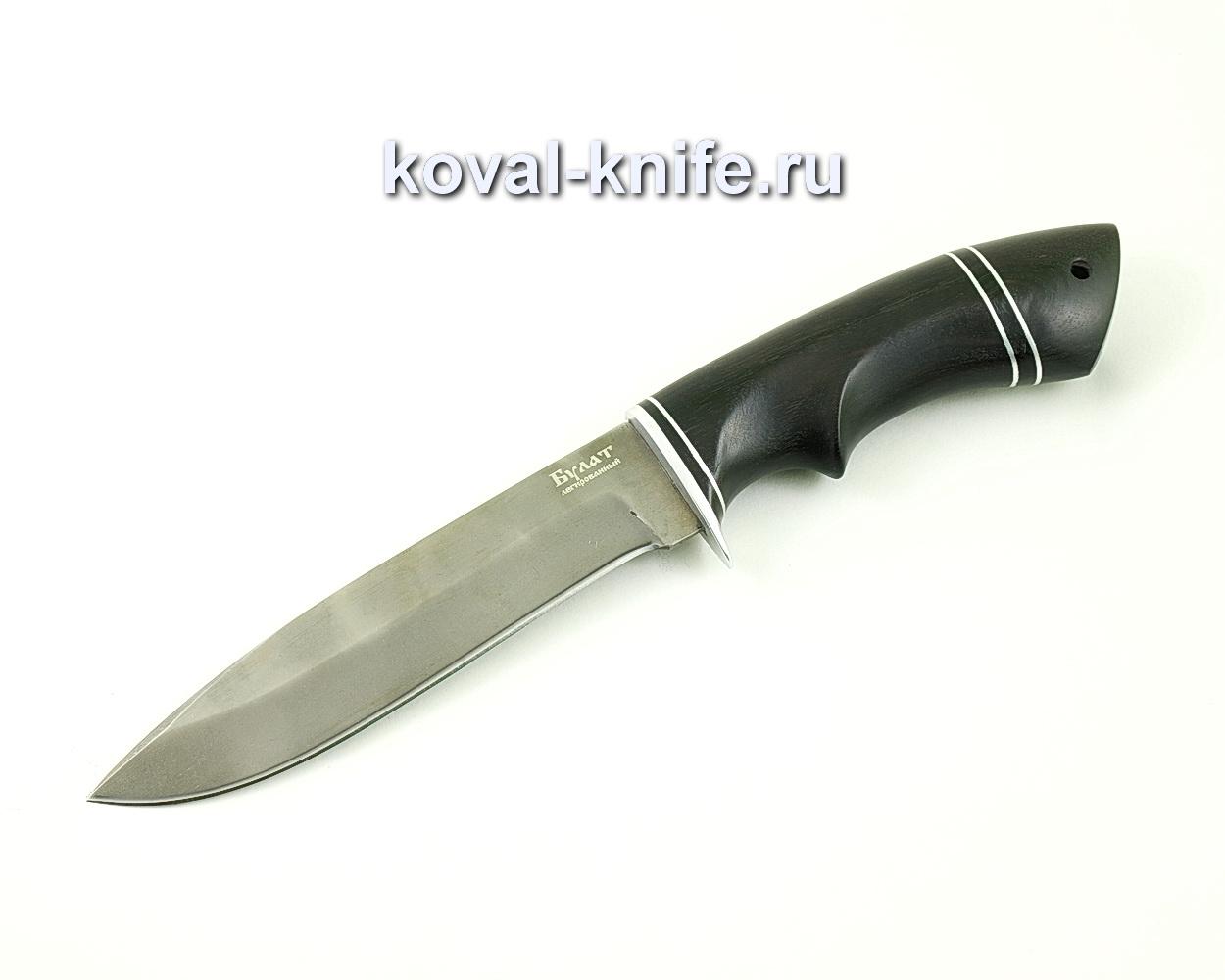 Нож из булатной стали Олимп (Легированный булат, рукоять граб) A476