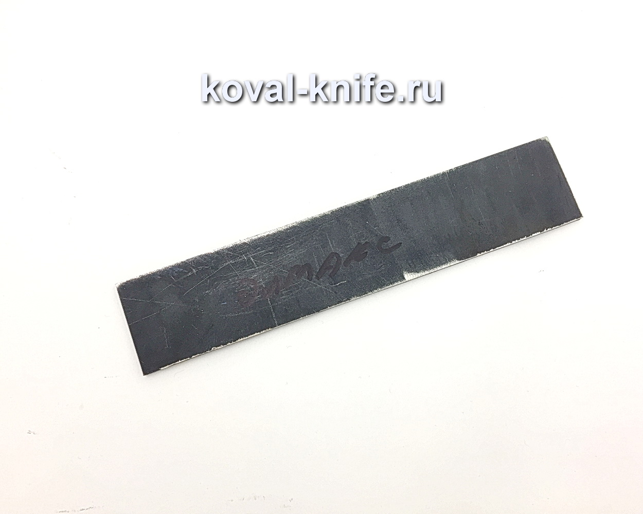 Заготовка из порошковой стали: Elmax 200х40х3,7мм.