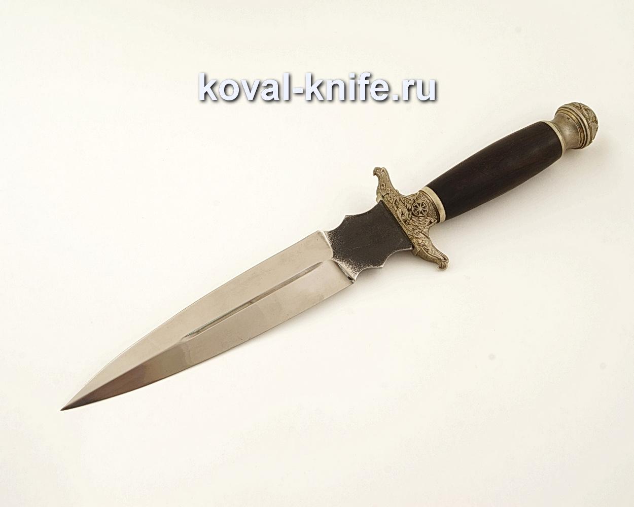 Нож Святогор из кованой стали 110Х18 с рукоятью из граба  A610