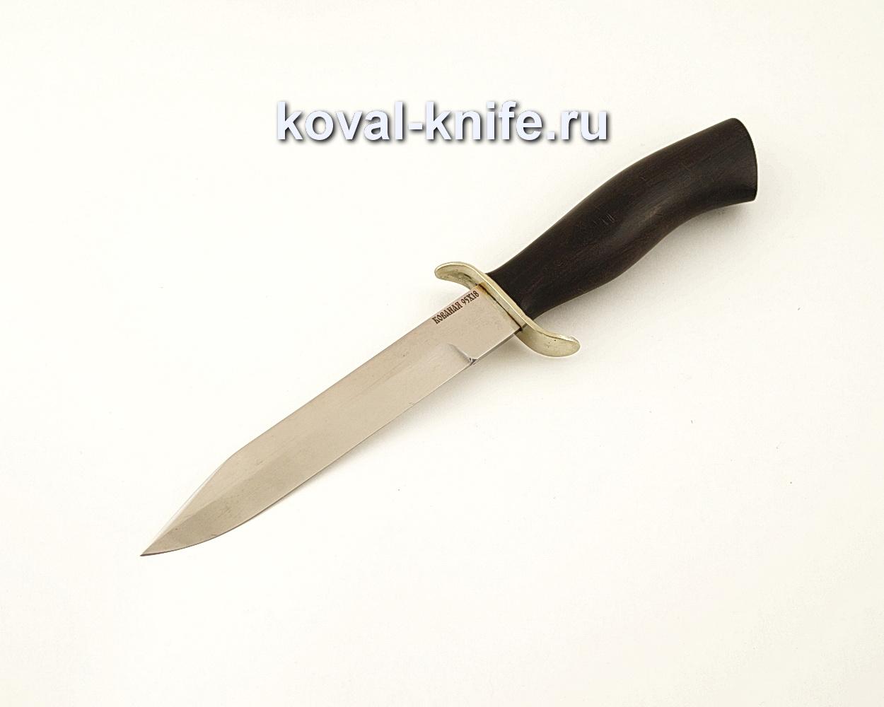 Нож Разведчика из кованой стали 95Х18 с рукоятью из черного граба  A639