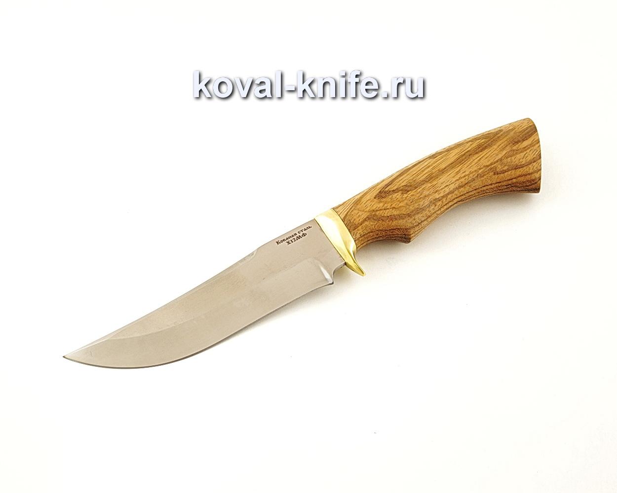 Нож Клыч из кованой стали Х12МФ с рукоятью из зебрано  A643