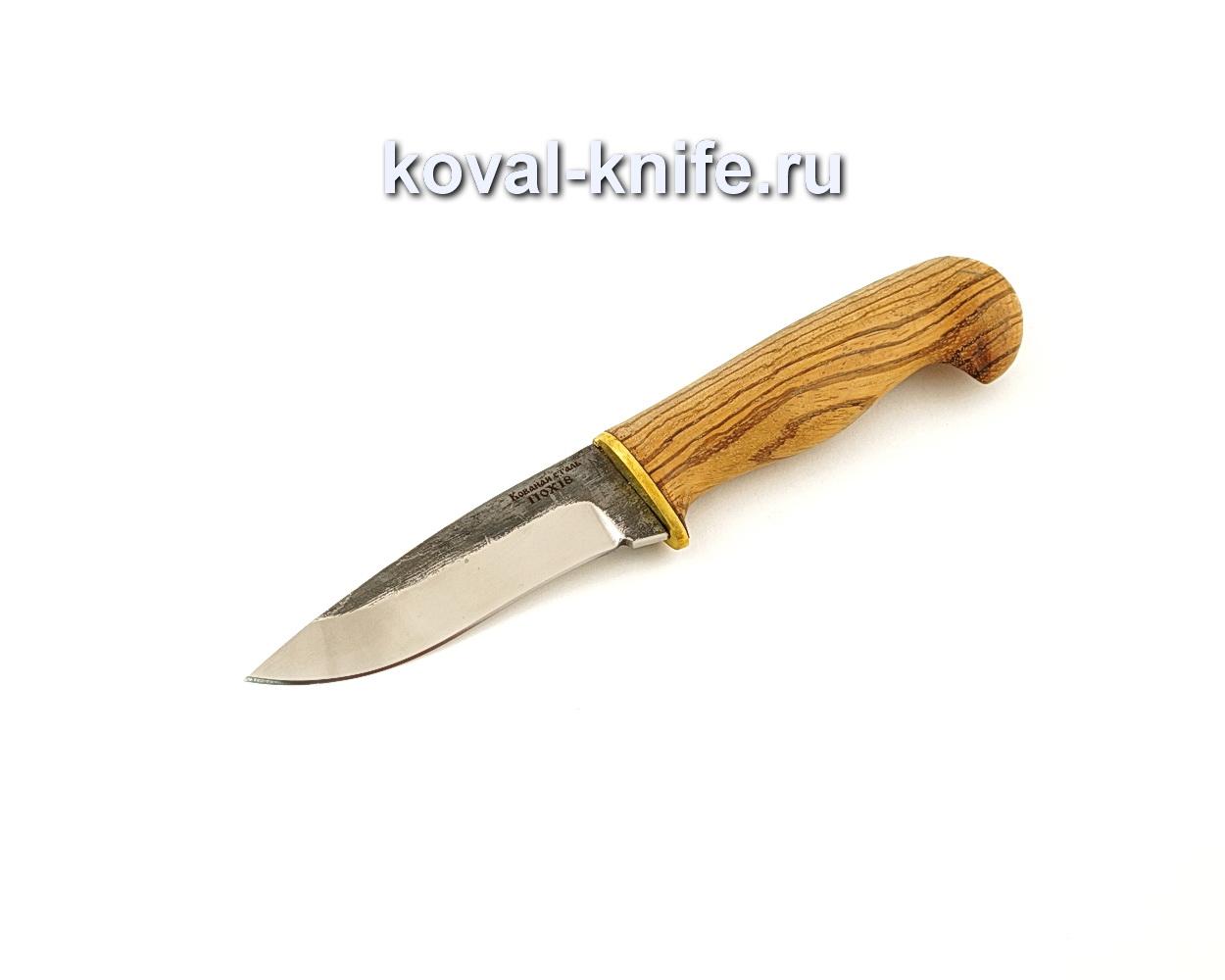 Нож Сапсан из кованой стали 110Х18 с рукоятью из зебрано  A650