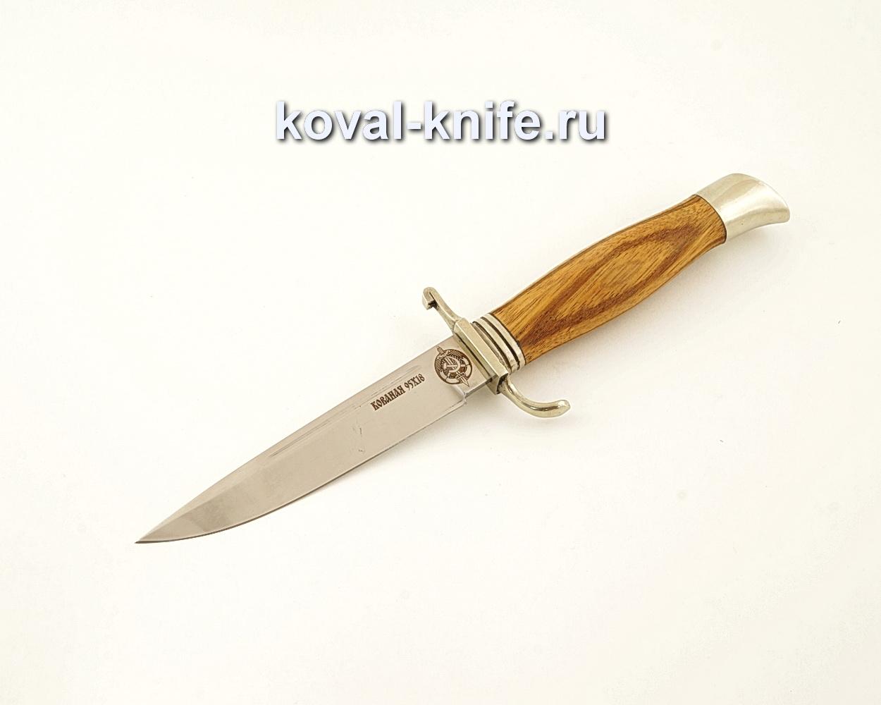 Нож финка НКВД из кованой стали 95Х18 с рукоятью из зебрано  A617