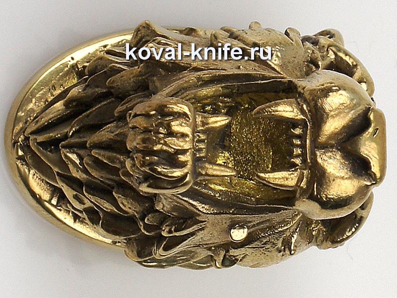 Литье для ножа 107 Голова ТИГР Высота примыкания со стороны рукояти 32,5мм