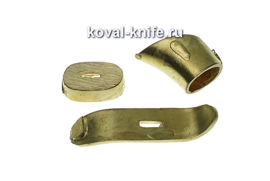Литье для ножа 7 Комплект для финки  раздельный ( 3 единицы)