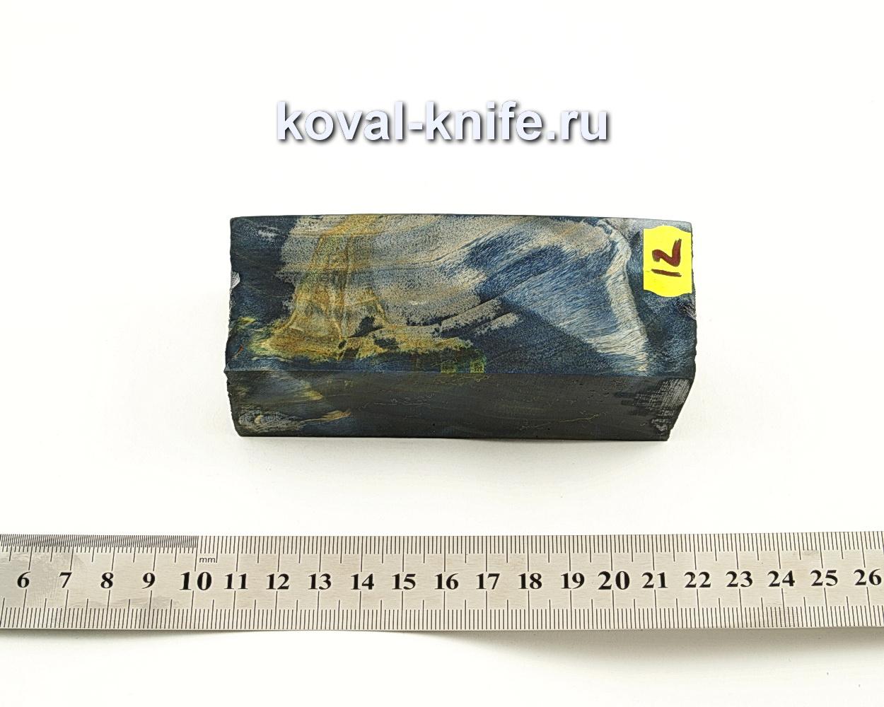 Брусок стабилизированной древесины для ножа N12