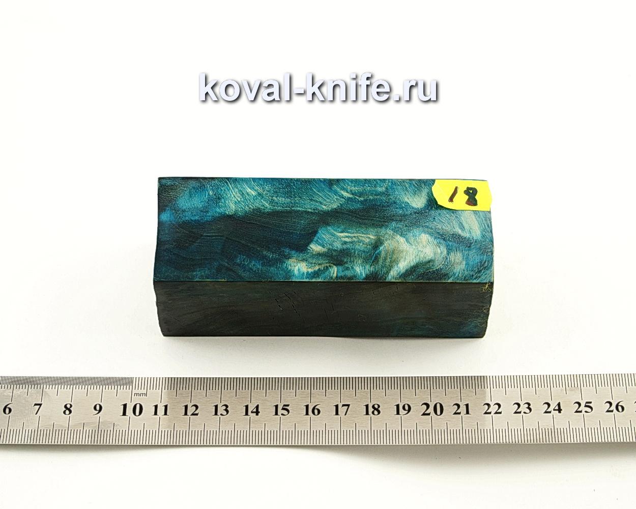 Брусок стабилизированной древесины для ножа N18